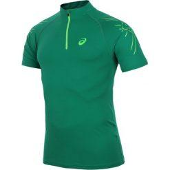 T-shirty męskie: koszulka kompresyjna do biegania męska ASICS INNER MUSCLE 1/2 ZIP TOP / 114435-5007