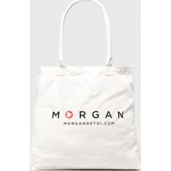 Morgan - Torebka. Szare torebki klasyczne damskie marki Morgan, z bawełny, duże. Za 49,90 zł.