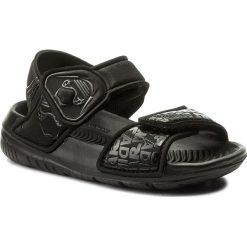 Sandały adidas - Star Wars AltaSwim I CQ0129 Cblack/Grefiv/Ftwwht. Czarne sandały chłopięce Adidas, z materiału. Za 129,00 zł.
