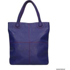 Torebka skórzana MAGNIFICA marki Bolsa. Niebieskie torebki klasyczne damskie Pakamera, ze skóry. Za 629,00 zł.