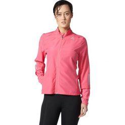 Adidas Kurtka damska Response Wind różowa r. L (BQ3557). Szare kurtki sportowe damskie marki Adidas, l, z dresówki, na jogę i pilates. Za 197,14 zł.