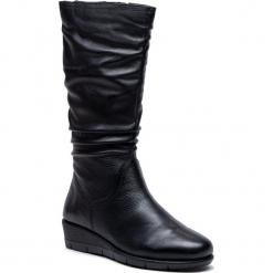 Kozaki CAPRICE - 9-25545-31 Black Nappa 022. Czarne kowbojki damskie Caprice, ze skóry ekologicznej, na obcasie. Za 369,90 zł.