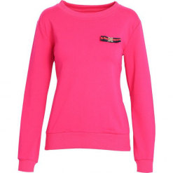 Fuksjowa Bluza Nothing At All. Różowe bluzy damskie Born2be, xl. Za 34,99 zł.