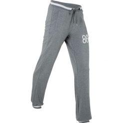 Spodnie sportowe, długie bonprix szary melanż. Szare spodnie sportowe damskie marki bonprix, melanż. Za 74,99 zł.