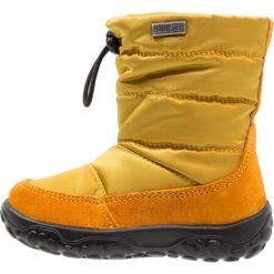 Naturino POZNURR Śniegowce mais. Żółte kozaki dziewczęce Naturino, z materiału. W wyprzedaży za 237,30 zł.