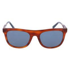 """Okulary przeciwsłoneczne męskie: Okulary przeciwsłoneczne """"SF864S"""" w kolorze brązowo-srebrno-granatowym"""