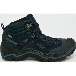 Keen - Buty Wanderer Mid. Brązowe buty trekkingowe męskie marki Keen, z materiału, na sznurówki, outdoorowe. W wyprzedaży za 579,90 zł.