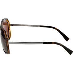 Dolce&Gabbana Okulary przeciwsłoneczne havana. Brązowe okulary przeciwsłoneczne damskie aviatory Dolce&Gabbana. Za 839,00 zł.