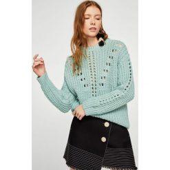 Swetry klasyczne damskie: Mango – Sweter Lilium