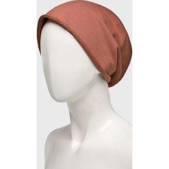 Answear - Czapka Nomad. Szare czapki zimowe damskie ANSWEAR, na zimę, z bawełny. W wyprzedaży za 27,90 zł.