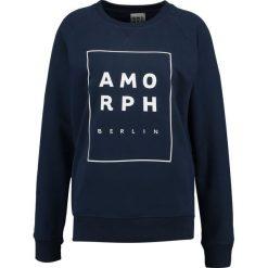 Bluzy rozpinane damskie: Amorph Berlin AMORPH Bluza navy/white