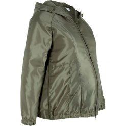 Kurtka ciążowa bonprix oliwkowy. Zielone kurtki ciążowe bonprix, z kapturem. Za 59,99 zł.