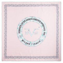 Chusty damskie: Versace 19.69 Chusta Damska Różowy Miss Success