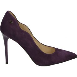 Czółenka - 4704C CAM MEL. Czarne buty ślubne damskie Venezia, ze skóry. Za 299,00 zł.