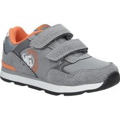 Szare buty sportowe na rzepy American BS-C2909. Szare buciki niemowlęce American, na rzepy. Za 69,99 zł.