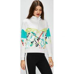Puma - Bluza. Czerwone bluzy damskie marki KALENJI, z elastanu, z krótkim rękawem, krótkie. Za 299,90 zł.