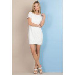 Tuniki damskie eleganckie: Elegancka tunika z ażurowym wzorem