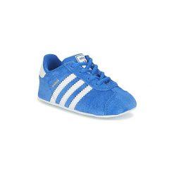 Trampki chłopięce: Buty Dziecko adidas  GAZELLE CRIB