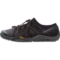 Merrell TRAIL GLOVE 4 KNIT Obuwie do biegania neutralne all black. Czarne buty do biegania damskie Merrell, z materiału. Za 419,00 zł.