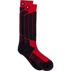 Skarpetki męskie: Skarpetki w kolorze czarno-czerwonym