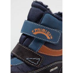 Primigi GTX Śniegowce notte/blue. Niebieskie buty zimowe chłopięce Primigi, z materiału. W wyprzedaży za 226,85 zł.