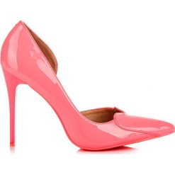 Szpilki: Różowe szpilki sweetheart BLANCHE