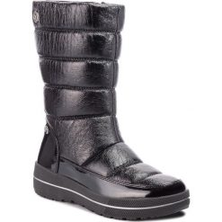 Śniegowce CAPRICE - 9-26453-21 Black Comb 019. Czarne buty zimowe damskie Caprice, z materiału. W wyprzedaży za 219,00 zł.