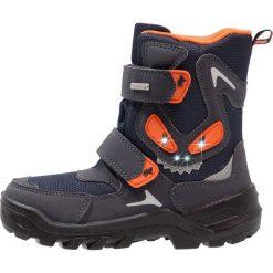 Lurchi KRUEMELSYMPATEX Śniegowce atlantic. Czarne buty zimowe chłopięce marki Lurchi, z materiału. W wyprzedaży za 159,50 zł.