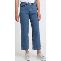 Lee HIGH WAIST WIDE LEG Jeansy Relaxed Fit piped stonewash. Niebieskie jeansy damskie Lee, z bawełny. Za 349,00 zł.
