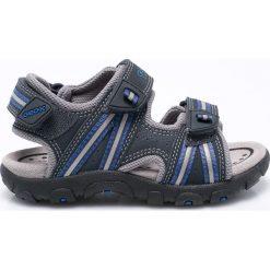 Geox - Sandały dziecięce. Szare sandały chłopięce Geox, z gumy. W wyprzedaży za 259,90 zł.