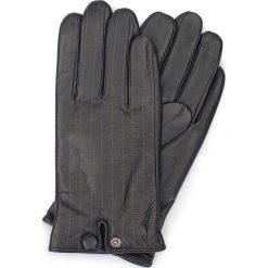 Rękawiczki męskie 39-6-715-1. Brązowe rękawiczki męskie Wittchen, z polaru. Za 149,00 zł.