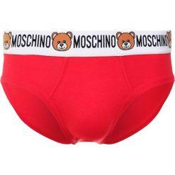 Bokserki męskie: Moschino Underwear BRIEF Figi rosso/red