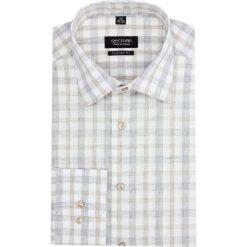 Koszula versone 2742 długi rękaw custom fit beż. Szare koszule męskie non-iron Recman, m, z długim rękawem. Za 149,00 zł.