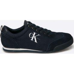 Calvin Klein Jeans - Buty Wyatt. Czarne halówki męskie Calvin Klein Jeans, z jeansu. Za 449,90 zł.