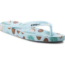 Chodaki damskie: Japonki COQUI – Kaja 1327 Coconut Blue
