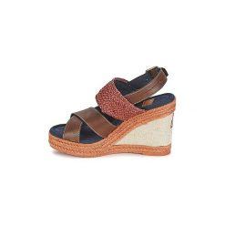 Sandały Napapijri  BELLE. Szare sandały trekkingowe damskie marki Napapijri, z dzianiny. Za 367,20 zł.