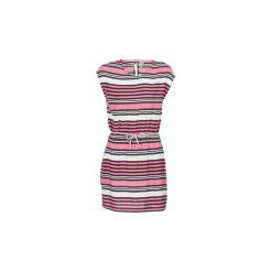 Sukienki krótkie Bench  BLWS001962. Czerwone sukienki mini marki Bench, s, z krótkim rękawem. Za 216,30 zł.