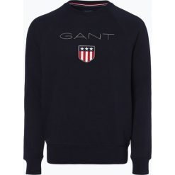 Gant - Męska bluza nierozpinana, niebieski. Niebieskie bejsbolówki męskie GANT, l. Za 379,95 zł.