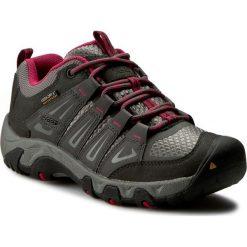 Buty trekkingowe damskie: Trekkingi KEEN - Oakridge Wp 1015359 Magnet/Rose