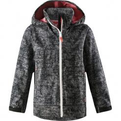 """Kurtka softshellowa """"April"""" w kolorze czarnym. Czarne kurtki dziewczęce marki bonprix. W wyprzedaży za 129,95 zł."""