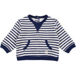 Carrement Beau BABY  Bluza ecru/marine. Białe bejsbolówki męskie Carrement Beau, z bawełny. Za 159,00 zł.