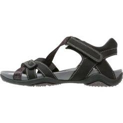 Superfit NANCY Sandały trekkingowe schwarz. Różowe sandały chłopięce marki Superfit, z gumy. W wyprzedaży za 202,30 zł.