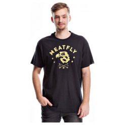 T-shirty męskie: Meatfly T-Shirt Męski Patriot S Czarny