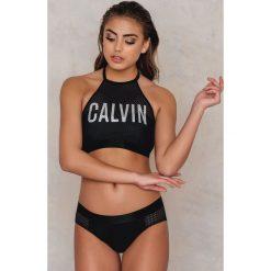Bokserki damskie: Calvin Klein Bokserki z siateczką – Black