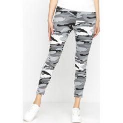 Spodnie damskie: Szare-Moro Legginsy Do Good