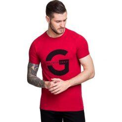T-shirt NICODEMO TSTS000001. Niebieskie t-shirty męskie marki Giacomo Conti, m, z tkaniny, klasyczne. Za 79,00 zł.