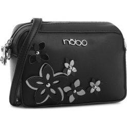 Torebka NOBO - NBAG-E1600-C020 Czarny. Czarne listonoszki damskie Nobo, ze skóry ekologicznej. W wyprzedaży za 109,00 zł.