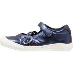 Friboo Baleriny z zapięciem dark blue. Niebieskie baleriny dziewczęce Friboo, z materiału. Za 129,00 zł.