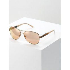 Burberry Okulary przeciwsłoneczne matte gold. Czarne okulary przeciwsłoneczne damskie lenonki marki Burberry. Za 819,00 zł.