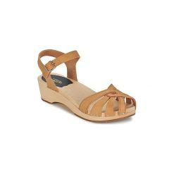 Sandały Swedish hasbeens  CROSS STRAP. Czerwone sandały damskie marki Nike. Za 426,30 zł.